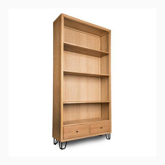 lemari rak minimalis tanpa pintu