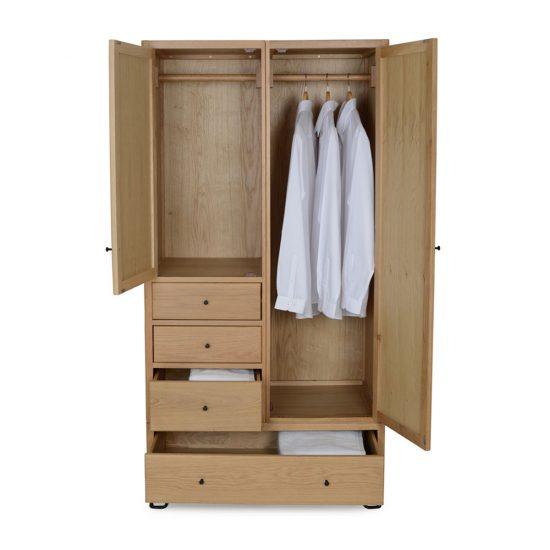lemari natural minimalis banua